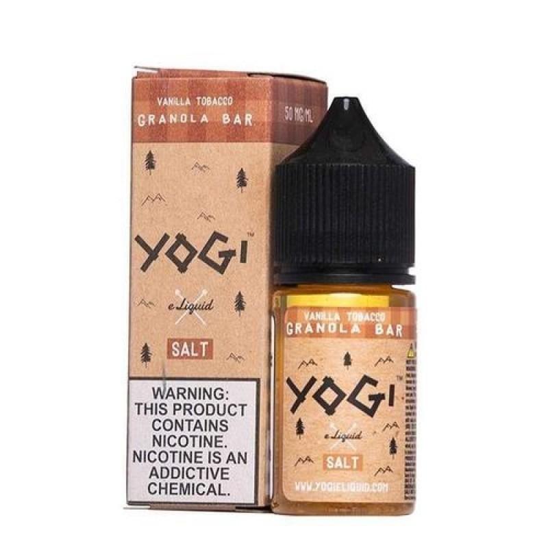 Yogi Salt Vanilla Tobacco Granola Bar